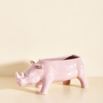 Rhino What You Want Planter | Mod Retro Vintage Decor Accessories | ModCloth.com