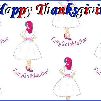FairyGothMother Gift Card Happy Thanksgiving