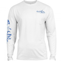 Salt Life Men's Captain SLX Long Sleeve T-Shirt