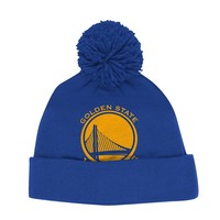 adidas Golden State Warriors Cuffed Knit Cap - Adult, Size: One Size (Blue)