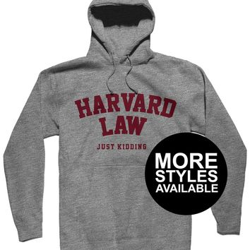 Harvard Law Just Kidding, Womens Graphic Shirt
