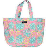 "Simply Southern ""Hibiscus"" X-Large Tote"