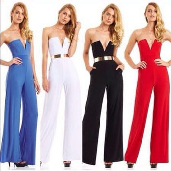 Sexy bell bottoms Jumpsuit MG818GD