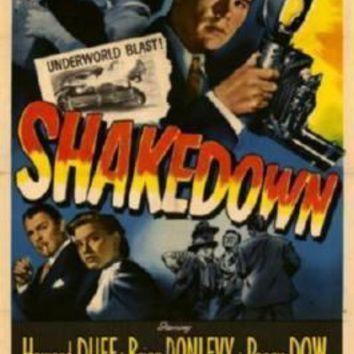 Shakedown Movie Poster Standup 4inx6in