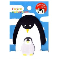 Mother and Baby Penguin Shaped Animal Themed Memo Pad Post-it Sticky Note Pad