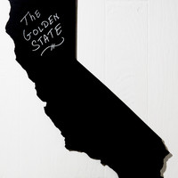 Housewarming Gift Idea: State Shaped Chalkboard Any State: XL