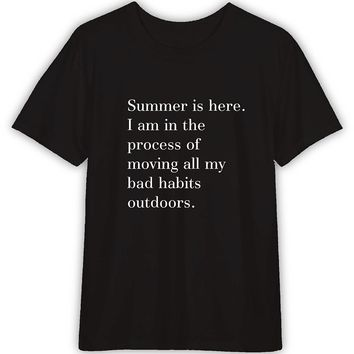 Summer Is Here Funny T shirt Quotes