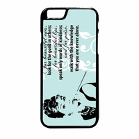 Audrey Hepburn Quoter Beautiful Eyes iPhone 6 Plus Case