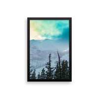 Rock Candy Mountains - Framed Photo Print