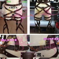 New Attack on Titan Shingeki no Kyojin Belts and harness Cosplay Straps