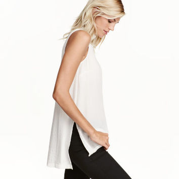 H&M Sleeveless Blouse $17.99