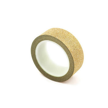 Washi Tape - Gold Glitter Washi Masking Tape Great for Wedding Invitations and Gift Wrap