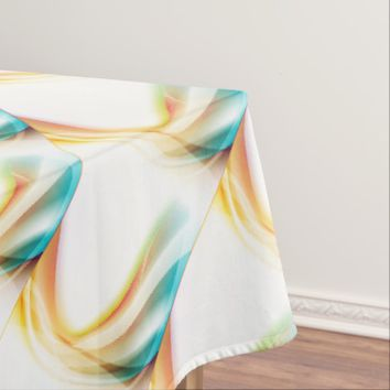 Abstract Swirl 2 Tablecloth