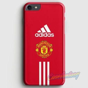 Manchester United Adidas Wallpaper iPhone 7 Case | casefantasy