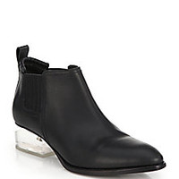 Alexander Wang - Kori Leather & Lucite Ankle Boots - Saks Fifth Avenue Mobile