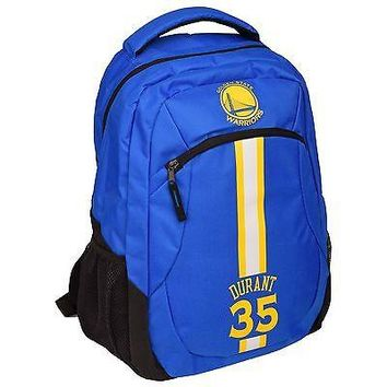 Golden State Warriors NBA Action Backpack School Book Gym Bag - Kevin Durant ...