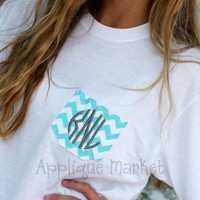 Chevron Pocket Tee Monogram T Shirt