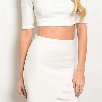 Aime Two Piece Skirt Set