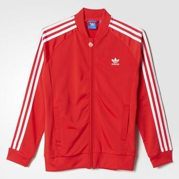 adidas Superstar Jacket - Tomato | adidas US