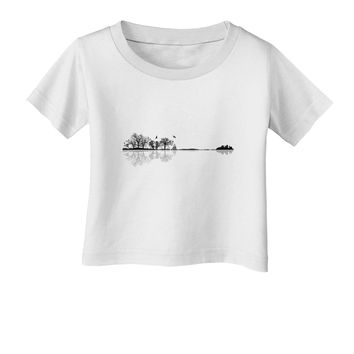 Nature's Harmony Guitar Infant T-Shirt by TooLoud