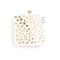 Ban.do Portable Charger for Lightning Port - Retail Packaging - Petite Part Dots & Blush
