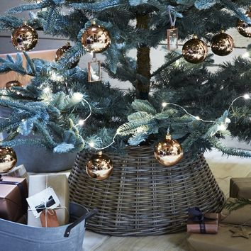 Rattan Christmas Tree Ring