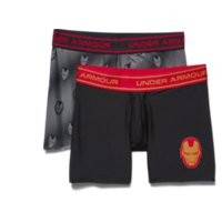Under Armour Boys' Under Armour Alter Ego Iron Man Boxerjock 2-Pack