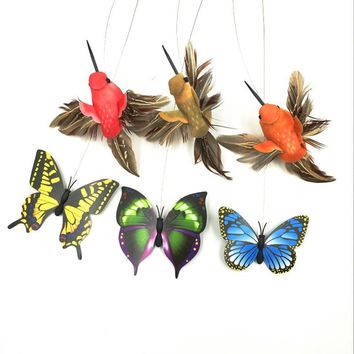 Colorful Butterfly Scratch Feather Cat Toy