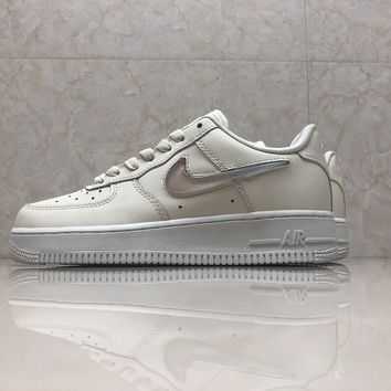 kuyou Nike Air Force 1 ah6827-100 beige jelly sneaker