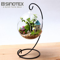 Hanging Glass Vase DIY Planting Hydroponic Plant Flower Container Home Garden Decor