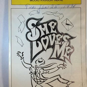 She Loves Me Playbill