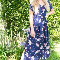 Rocco Royale' Ink Maxi Dress