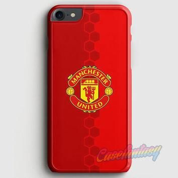 Manchester United Adidas The Red Devil iPhone 7 Case | casefantasy