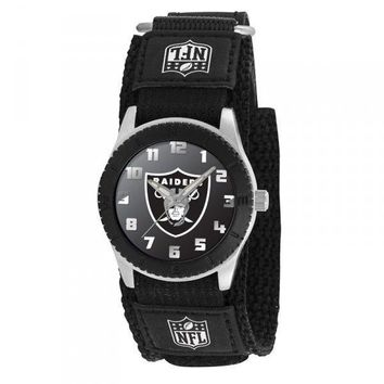 Oakland Raiders NFL Rookie Black Youth Watch