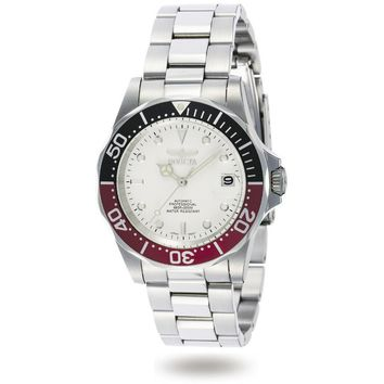 Invicta Men's 9404 Pro Diver Automatic 3 Hand White Dial Watch