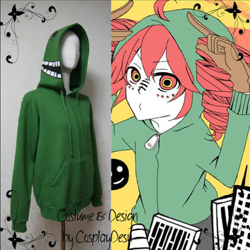 Vocaloid Matryoshka Hoodie color Green worn by Teto Kasane