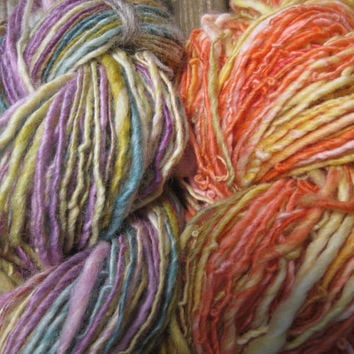 Fairy Tales - Hand spun merino single spun yarn