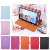 """PU Leather Case Cover for 7"""" Tablet PC MID 7inch Tablet Stand Case tablet universal case = 1931901444"""