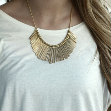 The Vanessa Necklace (gold)