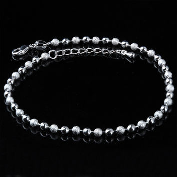 Sexy Ladies Cute Jewelry New Arrival Shiny Gift Stylish Korean Accessory Matte Anklet [8171771719]