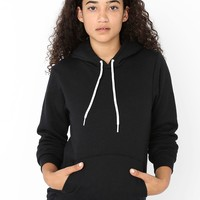 f498w - Unisex Flex Fleece Drop Shoulder Pull Over Hoodie