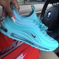 Nike W Air Max 97 UL 17 Se Full palm air cushion jogging shoes