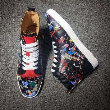 DCCK Cl Christian Louboutin Style #2113 Sneakers Fashion Shoes