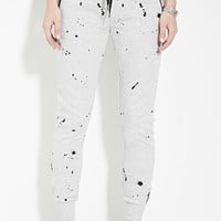 Paint Spatter Graphic Joggers | Forever 21 - 2000153449