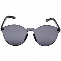 Gray Transparent Cat-Eye Sunglasses