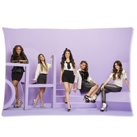 Custom Fifth Harmony Queen Size(20x30 inches) Zippered Pillow Case-Two sides