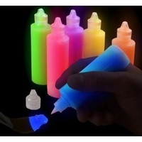 BeWild Brand® Super Glow in the Dark Paint Tubes (6 Pack)