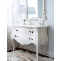 Provencal 2-Drawer White Chest