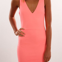 Hot Sale Sleeveless V-neck Skirt One Piece Dress [7767262151]