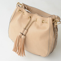 Cyrus Braided Hobo Bag *VEGAN LEATHER*
